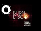 Felix Da Housecat feat. will.i.am - Burn The Disco (Radio Edit) (Cover Art). Cassetteeyed 2012.