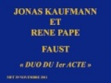 Jonas Kaufmann et Rene Pape - Faust - Duo du 1er acte - MET 29 novembre 2011.wmv