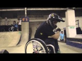 WCMX park with Aaron Fotheringham for PARAXTREME
