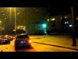 4.03.2013 2 аварии возле Уютеры и Налоговой г.Губкин