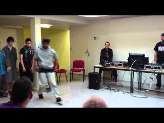 Paradox vs Malik - Hiphop - Prove it on the dancefloor battle