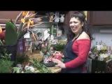 Аранжировка цветов на День святого Валентина/Valentines Day Arranging at Flower Boutique