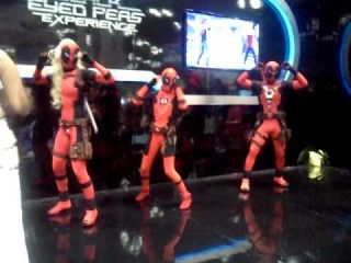 NYCC 2011: LoHG's Deadpool Corps dancing strikes!