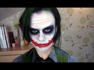 Joker Makeup (видео урок нанесения грима)