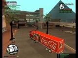 coca cola weihnachts-truck in gta san andreas