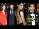 Karan Johar's 40th B'day Bash: A Bollywood Extravaganza!