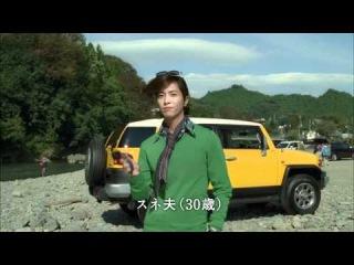 Рекламная кампания Toyota с Жаном Рено 2