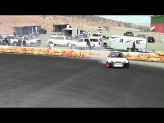 Michael Essa, GSR Autosport BMW e46 m3 drift first test