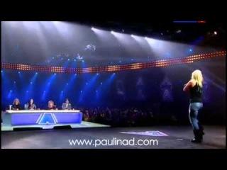 Паулина Дмитренко - Калинка-малинка (Фактор А 3 сезон)