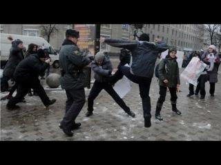 ШОК! Ужасный Гей пикет в Воронеже