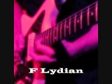 F Lydian Mode/Scale - groovy cruisin backing track! (Free mp3)