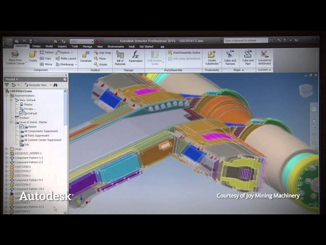Autodesk Showreel 1 MFG