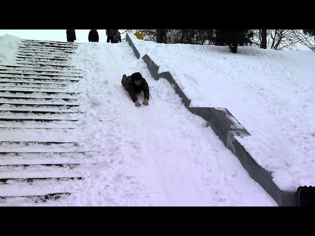 Сніжкове побоїще 4 - Пінгвінчики )