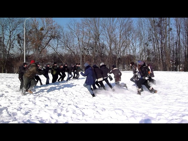 Сніжкове побоїще 3 - Хлопці vs Дівчата набіс!