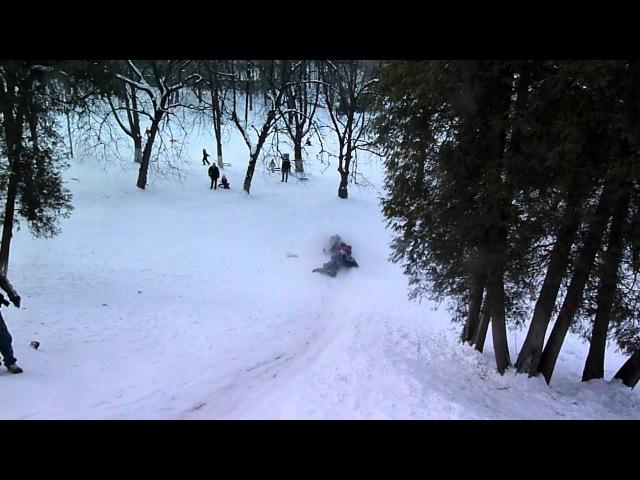 Сніжкове побоїще 3 - На гірці 1