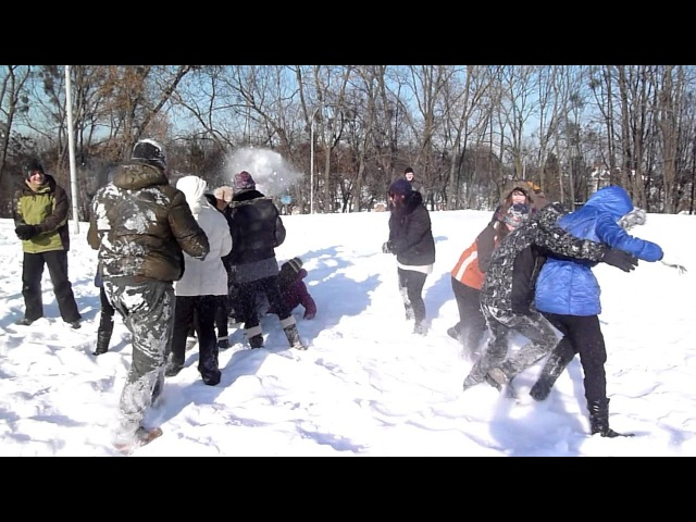 Сніжкове побоїще 3 - Підступна атака дівчат
