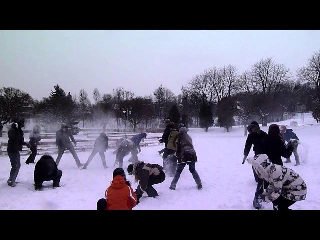 2012-02-05 - Сніжкове побоїще 2. Сніжки готові