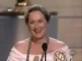 Meryl Streep winning Emmy for