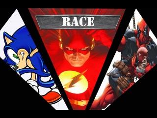 Sonic vs The Flash vs Deadpool: NYCC 2012