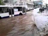 потоп на ул. Губкина Октябрьский
