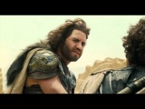 Perseus and Ares battle in 'Warth of the Titans'