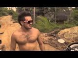 Гонки у водопада с Никитой Маугли