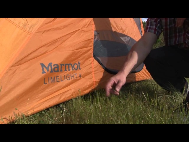 Marmot's Curly's Clips - The Limelight 4P Tent