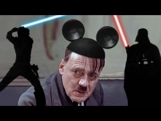 Hitler rants about Disney buying Star Wars