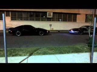 Pontiac Firebird Trans Am (Knight Rider K.I.T.T VS K.A.R.R)