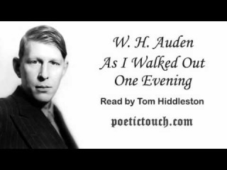 as i walked out one evening auden
