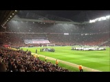 Manchester United 1 vs Real Madrid 2 Old Trafford atmosphere HD