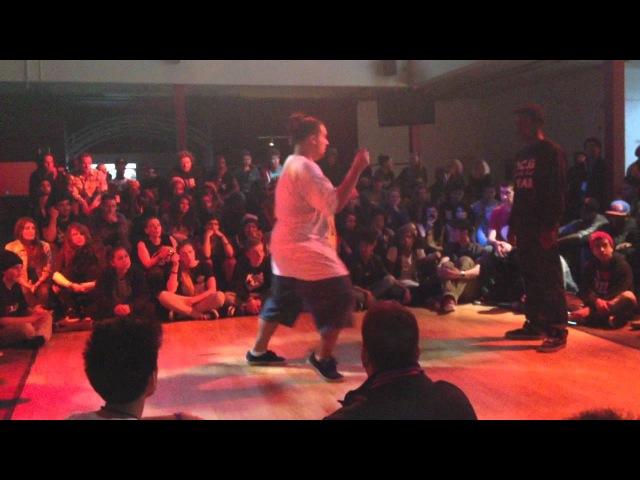 Almiros SSB vs. P-Dog Old Future/GhettoStyle SoulTrain 2012 HipHop