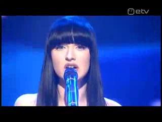 Евровидение 2009 (Eurovision 2009), Эстония, Sandra Nurmsalu & Urban Symphony,
