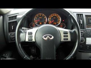 2007 Инфинити FX35 ( Infiniti FX35 ). Обзор (интерьер, двигатель).