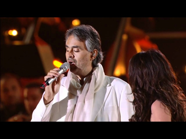 Andrea Bocelli and Sarah Brightman - Time to Say Goodbye - Vivere Live In Tuscany, 2008 (HD @ 720p)