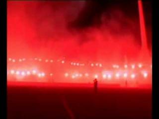 Dynamo Dresden Bengalo-Show