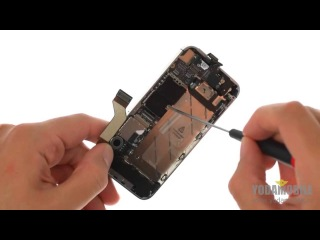 Замена шлейфа с датчиком приближения iPhone 4S