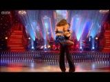 Rachel Stevens and Vincent Simone's showdance - BBC