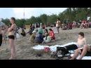 Пляжи Бали - Кута в воскресенье Kuta beach .mp4
