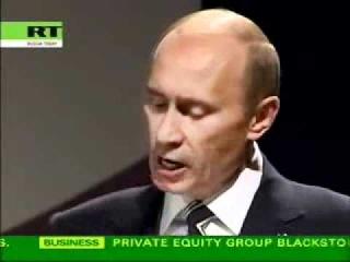 Урок английского языка от В.Путина