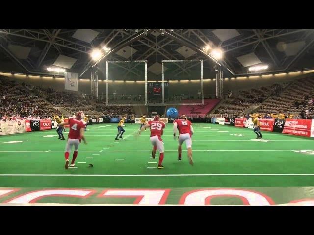2013-02-02 HASAO w AtlasArenie - Futbol amerykański-Mecz Polska-Szwecja.mp4