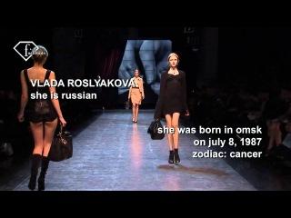 fashiontv | FTV.com - Vlada Roslyakova MODEL CUE TONE
