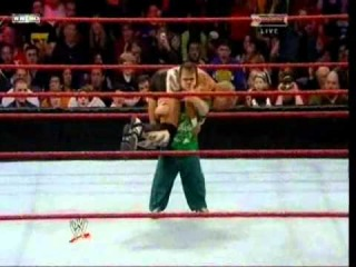 Royal Rumble 2011 Hornswoggle does Attitude Adjustment