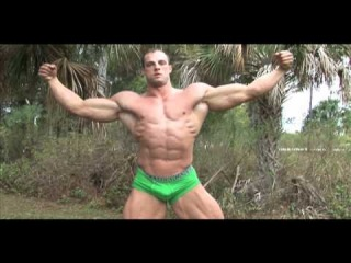 Bodybuilder Coty Reutzel Posing PumpingMuscle.com