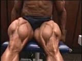 Bodybuilder Bobby Church trains, poses quads [ttp://vk.com/bodyandfitness]