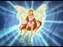 Winx Club Flora ALL Transformations!