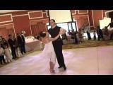 Очень красивый свадебный танец и ооочень смелая невеста :)
