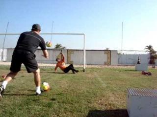 Specific Training for Goalkeeper