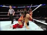 WWE Superstars Eve, Natalya, Gail Kim &amp Tamina vs. The Bellas, Melina &amp Alicia Fox March 17, 2011