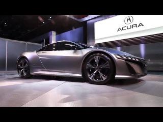 2012 Acura NSX Concept in Detroit/ 2012 Акура NSX концепт в Детройте